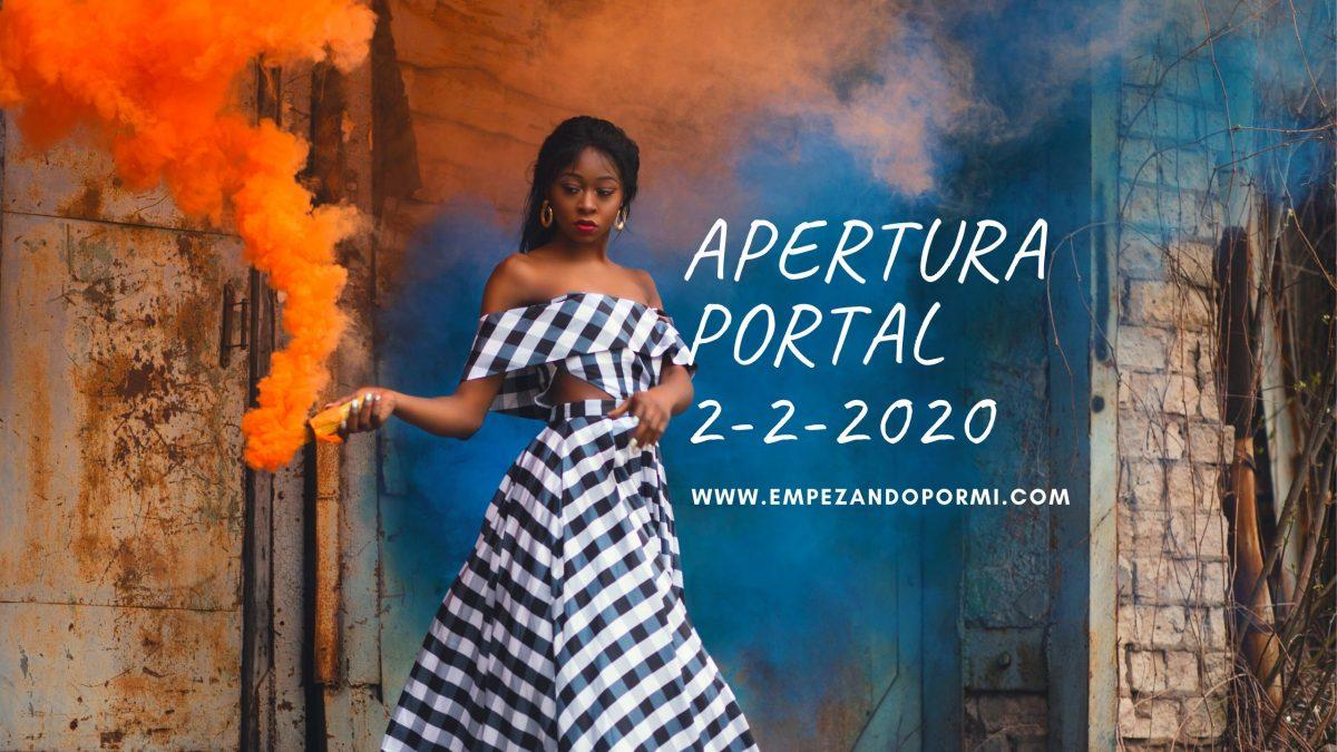 Apertura Portal 22 2020 Comienza La Manifestacion