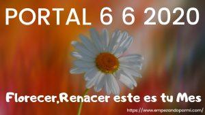 Renacer Florecer ESTE ES TU MES